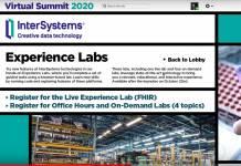 InterSystems Virtual Summit 2020.