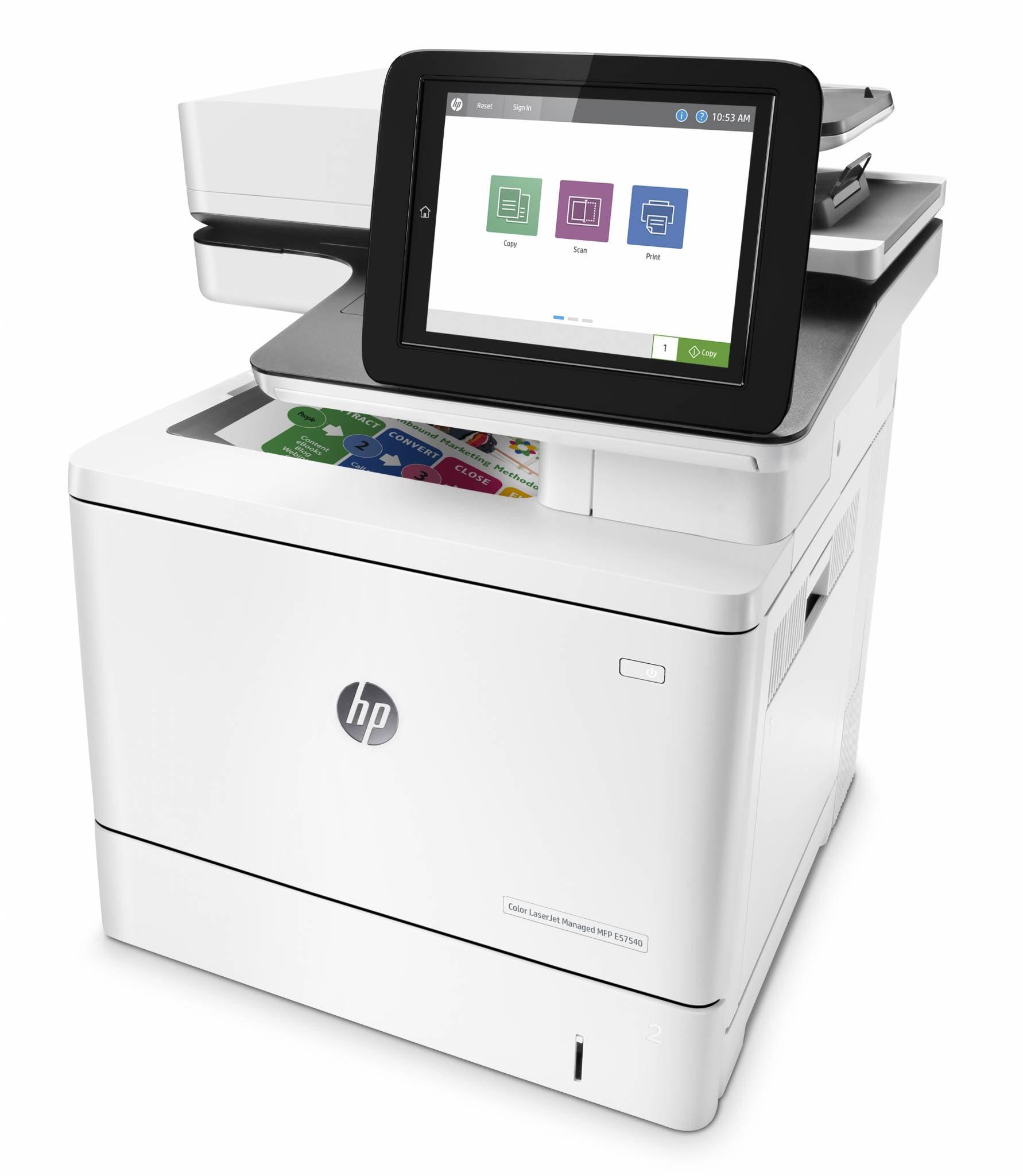 HP Color LaserJet Managed MFP E57540dn