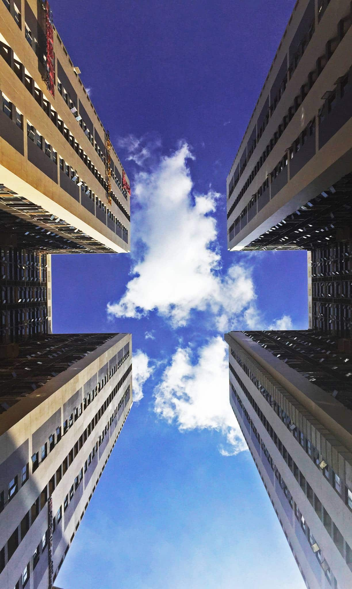 building edificio integración nube