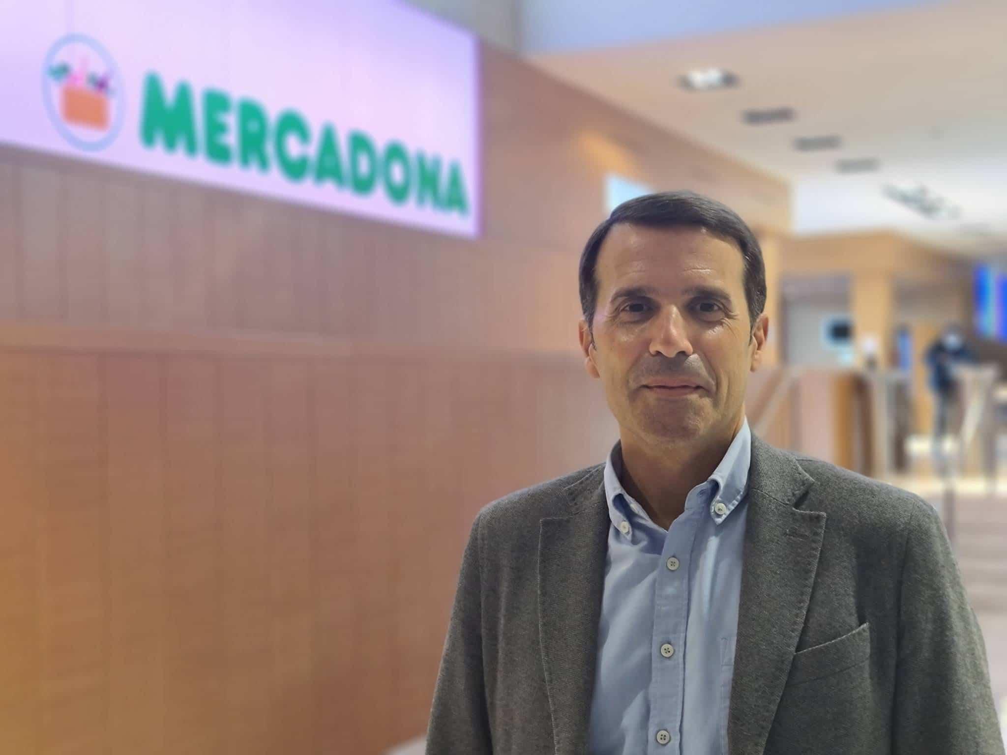 César Izquierdo, director de informática de tiendas de Mercadona