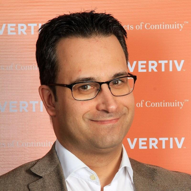 Luis Casero, Field Marketing Manager de Vertiv