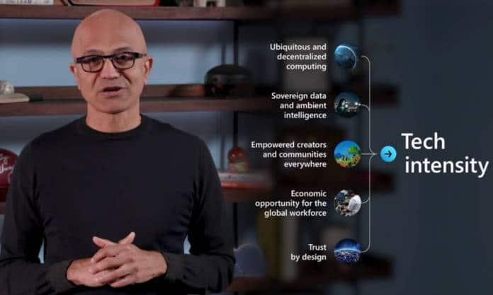 Microsoft Ignite Satya Nadella