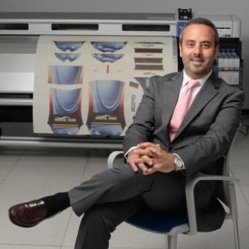 Oscar Visuña, Head of Business Sales de Epson