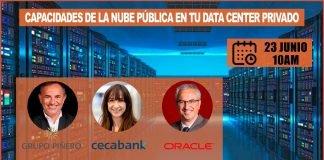 Capacidades de la nube pública en tu Data Center privado oracle cloud at customer