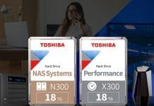 N300 - X300 18 TB toshiba discos duros