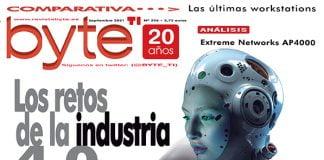 Portada Revista Byte TI 296, septiembre 2021